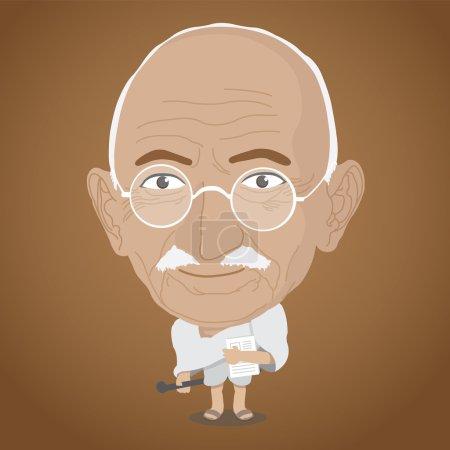 Векторные иллюстрации Махатма Ганди