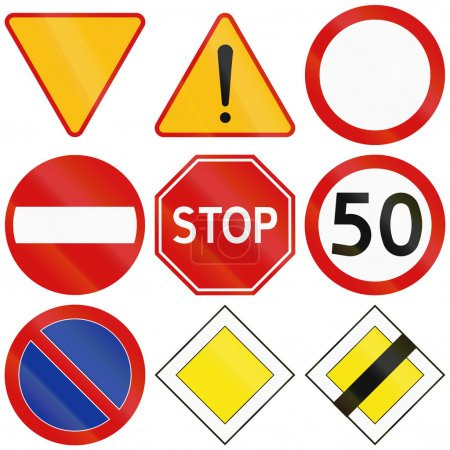 Common Traffic Signs in Poland