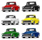 Vintage Classic Pickup Truck in multiple colors