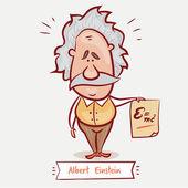 portrait of Albert Einstein