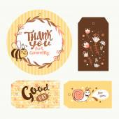 Collection of cute gift tags