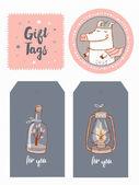 Tribal gift tags
