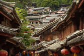 Old Town architecture of Lijiang