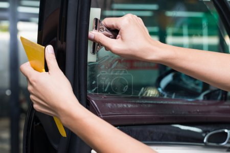Car window tinting series