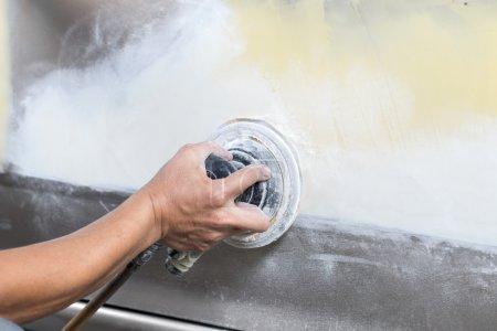 Auto body repair series : Sanding paint