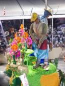 Rio de Janeiro, Brazília - február 23: csodálatos szertelen során az éves karnevál Rio de Janeiro, 2009. február 23.
