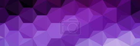 Illustration pour Fond lumineux avec texture géométrique. Conception de présentations, livrets, dépliants, brochures, cartes de visite, paquets créatifs pour des produits inhabituels. Illustration vectorielle. - image libre de droit