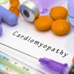 Cardiomyopathy - diagnosis written on a white piec...