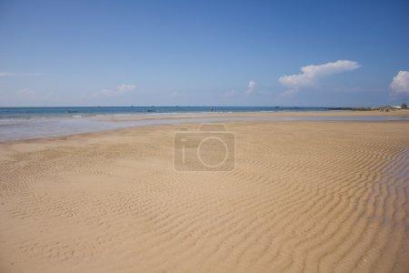 Relaxing beach in MuiNe, Vietnam