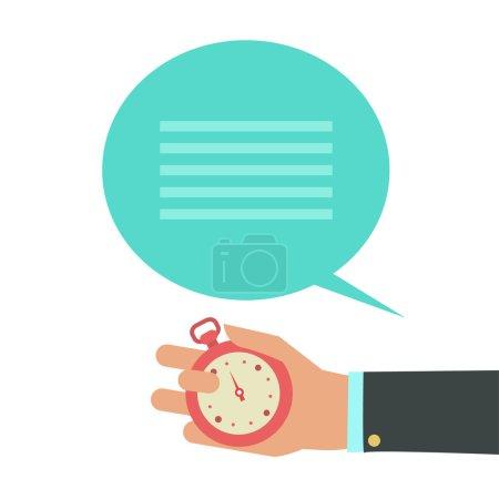 Time management background.