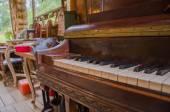 Dvořáková, Sao Paulo, Brazílie - 17 ledna 2016: Klavír v domě, v