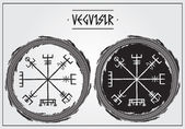 Galdrastafir - ancient icelandic magic symbols Vegvisir - will help you to find a way(solution) in different situations
