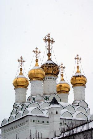 Volotsky monastery in winter