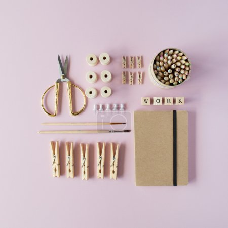 feminine working supplies