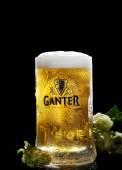 Beer in glass Ganter
