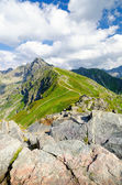 amazing view on High Tatra mountains in Poland