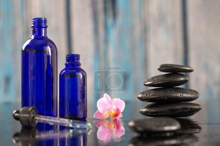 Photo pour Belle composition spa, médecine alternative et aromathérapie - image libre de droit