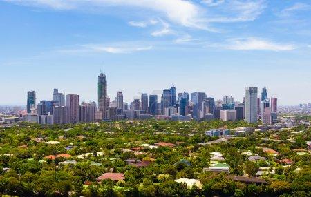 Manila, capital city of the Philippines....