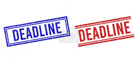 Rubber Textured DEADLINE Seal with Double Lines