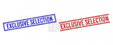 Distress Textured EXCLUSIVE SELECTION Seal with Double Lines