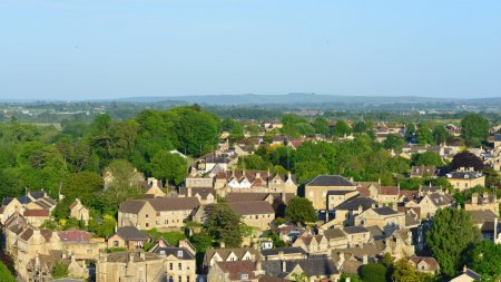 Bradford on Avon in Wiltshire England