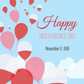 Independence Day Flat Greeting Card