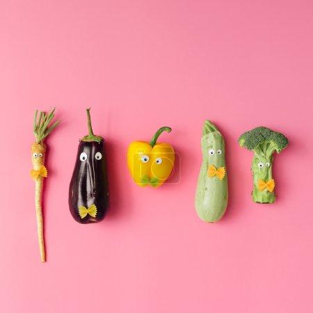 Various vegetable characters