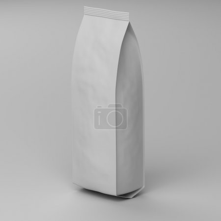 empty bag for coffee