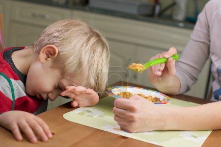 3-4 Years Child Boy Refusing Food
