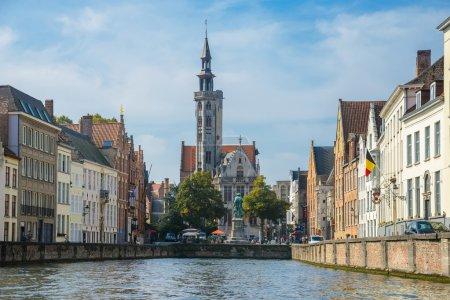 Square Jan van Eyckplein in Bruges
