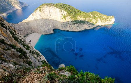 angle view at Zakynthos island, Greece