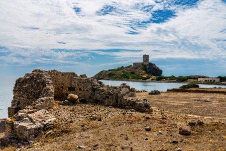 Ancient Ruins of Nora in Sardinia