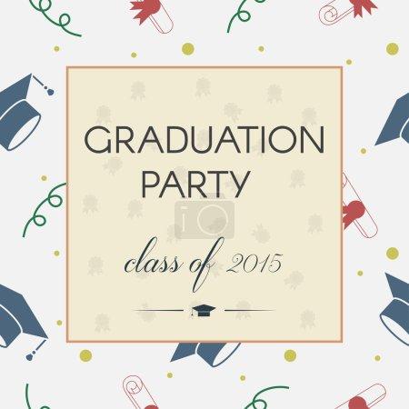 graduation invitation or certificate.