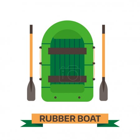 Inflatable Boat Icon