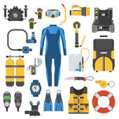 Scuba Diving and Snorkeling Set