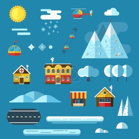 Winter resort creator collection