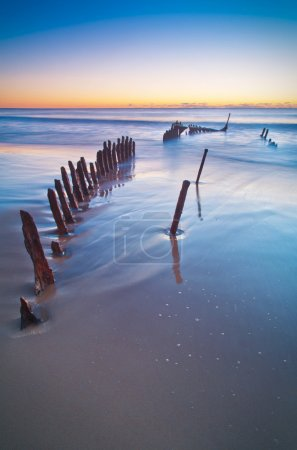 Wreck of the SS Dicky.