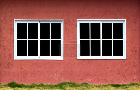 Twins windows outdoor