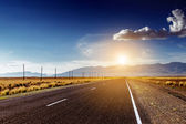 Straight road concept