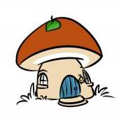 Mushroom House Fairy Tale