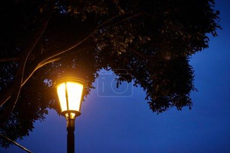 Lantern on the wall