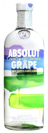 Vodka Absolut Grape 100cl, alc.40%