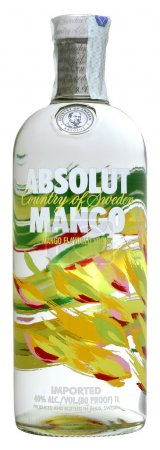 Vodka Absolut Mango 100cl, alc.40%