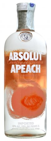 Vodka Absolut Apeach 100cl, alc.40%