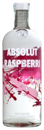 Vodka Absolut Raspberri 100cl, alc.40%