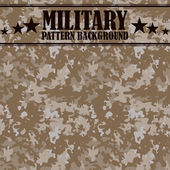 Camouflage seamless pattern Four colors Military print
