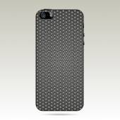 Vector carbon back cover smartphone vector illustration