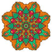 Mandala. kulatá ozdoba