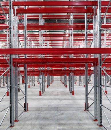 Industrial racks pallets shelves