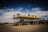 Fantastic gas station